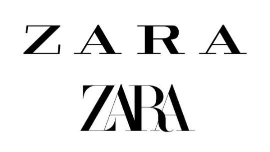 New Logo for Zara