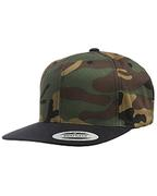 Adult 6-Panel Structured Flat Visor ClassicSnapback
