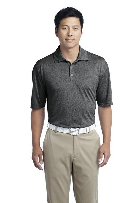 Nike Golf Dri-FIT Heather Polo