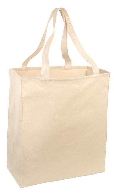 Port & Company - Over-the-Shoulder Grocery Tote