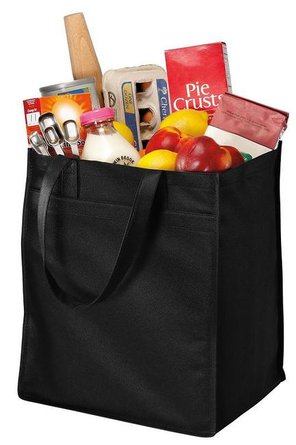 Port Authority - Extra-Wide Polypropylene Grocery Tote