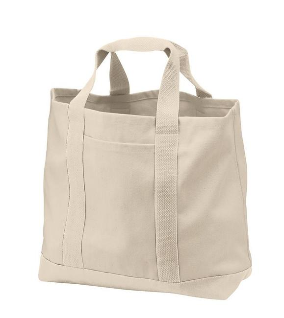 Port & Company - 2-Tone Shopping Tote