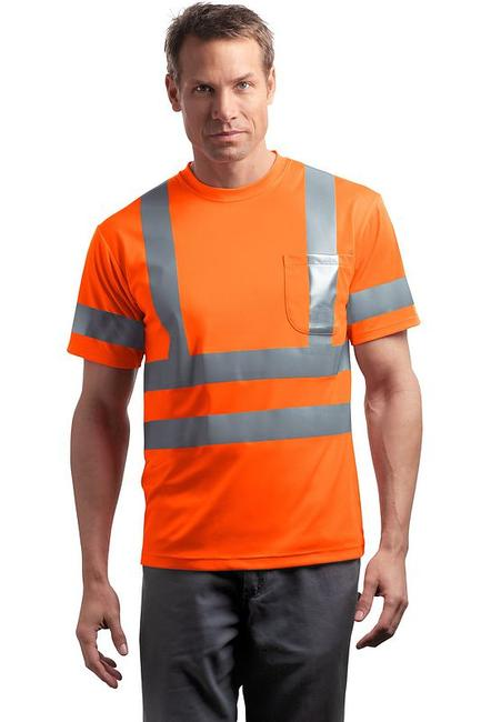 CornerStone - ANSI Class 3 Short Sleeve Snag-Resistant Reflective T-Shirt