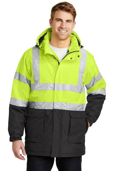 Port Authority - ANSI Class 3 Safety Heavyweight Parka