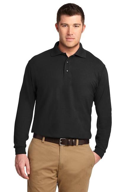 Port Authority - Long Sleeve Silk Touch Polo
