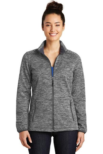 Sport-Tek Ladies PosiCharge Electric Heather Soft Shell Jacket