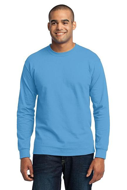 Port & Company - Long Sleeve 50/50 Cotton/Poly T-Shirt