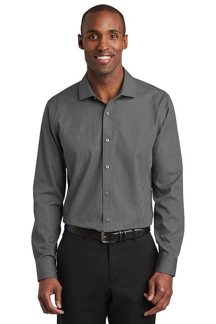 Red House  Slim Fit Nailhead Non-Iron Shirt