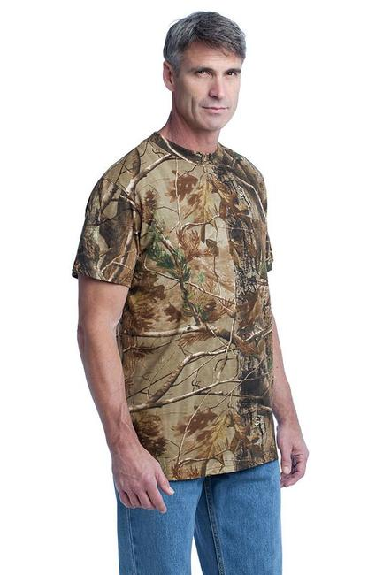 Russell Outdoors - Realtree Explorer 100% Cotton T-Shirt with Pocket