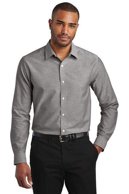 Port Authority  Slim Fit SuperPro  Oxford Shirt