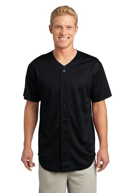 Sport-Tek - PosiCharge Tough Mesh Full-Button Jersey