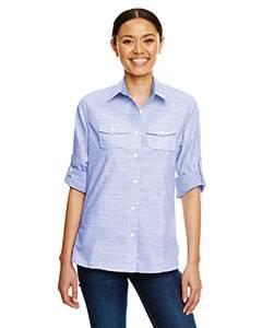 Ladies Texture Woven Shirt