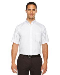 Men's Tall Optimum Short-Sleeve Twill Shirt