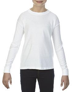 Youth 5.4 oz. Garment-Dyed Long-Sleeve T-Shirt