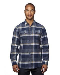 Men's Snap-Front Flannel Shirt