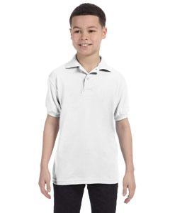 Youth 5.2 oz., 50/50 EcoSmart Jersey Knit Polo