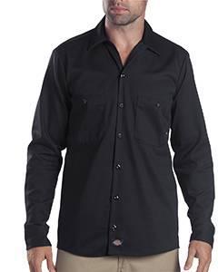 6 oz. Tall Industrial Long-Sleeve Cotton Work Shirt