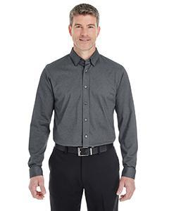 Men's Central Cotton Blend M_nge Button-Down