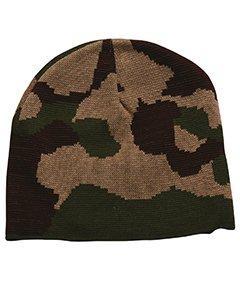 100% Acrylic Camouflage Beanie