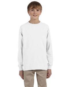 Youth 5.6 oz. DRI-POWER ACTIVE Long-Sleeve T-Shirt