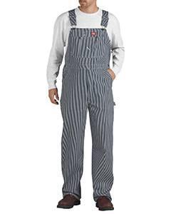 Unisex Hickory Stripe Bib Overall