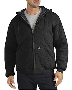 Unisex Heavyweight Quilted Fleece Hoodie