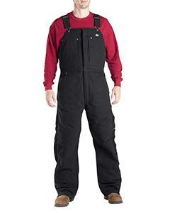 Unisex Sanded Duck Insulated Bib Overall