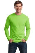 Hanes - Tagless 100% Cotton Long Sleeve T-Shirt