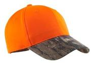 Port Authority  - Safety Cap with Camo Brim