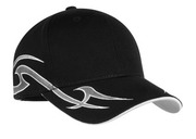 Port Authority - Racing Cap with Sickle Flames