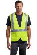 CornerStone - ANSI Class 2 Mesh Back Safety Vest