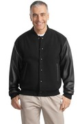 Port Authority - Wool and Leather Letterman Jacket