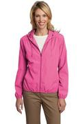 Port Authority&reg Ladies Hooded Essential Jacket