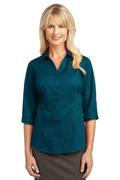 IMPROVED Port Authority Ladies 3/4-Sleeve Blouse