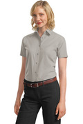 Port Authority - Ladies Short Sleeve Value Poplin Shirt