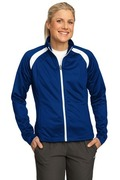 Sport-Tek - Ladies Tricot Track Jacket