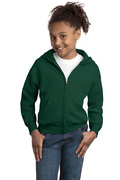 Hanes - Youth Comfortblend EcoSmart Full-Zip Hooded Sweatshirt
