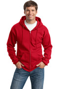 Port & Company - Classic Full-Zip Hooded Sweatshirt