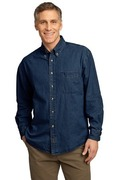 Port & Company - Long Sleeve Value Denim Shirt