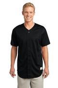 Sport-Tek - PosiCharge Tough Mesh Full-Button Jersey