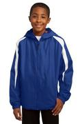 Sport-Tek - Youth Fleece-Lined Colorblock Jacket