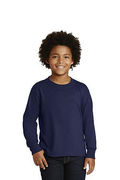 JERZEES Youth Dri-Power  Active 50/50 Cotton/Poly Long Sleeve T-Shirt