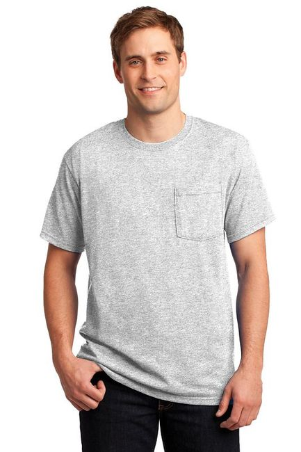 JERZEES -  Heavyweight Blend 50/50 Cotton/Poly Pocket T-Shirt