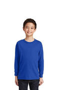 Gildan Youth Heavy Cotton 100% Cotton Long Sleeve T-Shirt