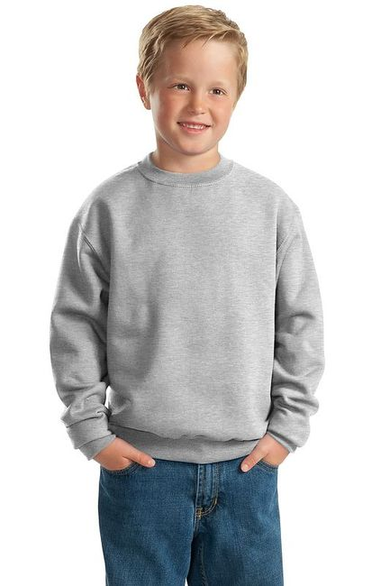 JERZEES - Youth NuBlend Crewneck Sweatshirt