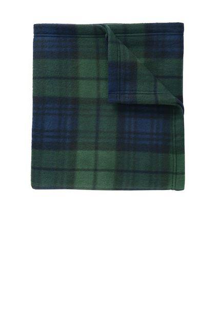 Port Authority Core Printed Fleece Blanket