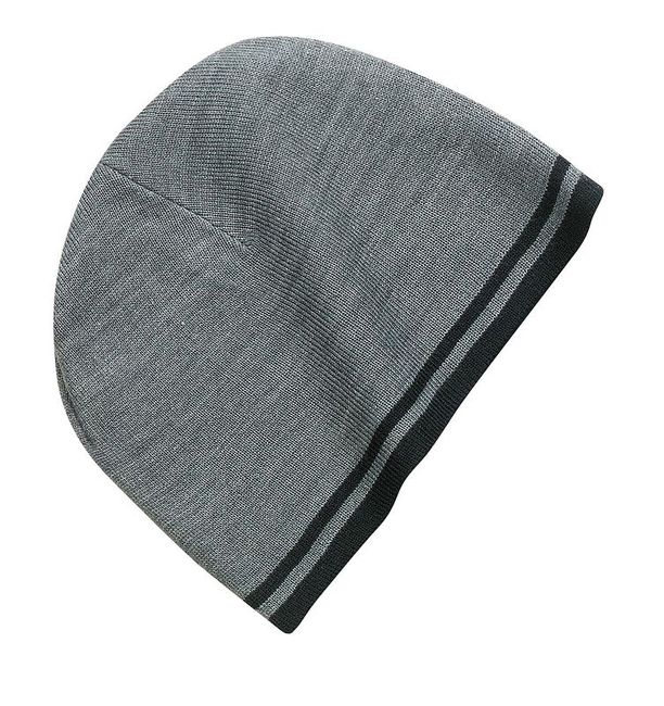 Port & Company - Fine Knit Skull Cap with Stripes