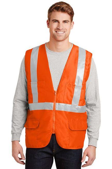 CornerStone - ANSI Class 2 Mesh Back Safety Vest