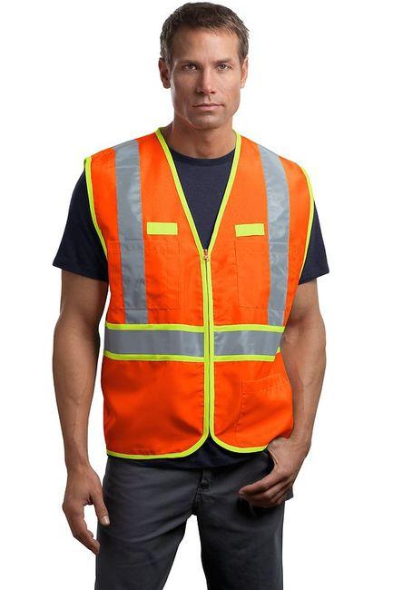 CornerStone - ANSI Class 2 Dual-Color Safety Vest
