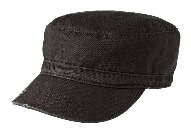 District - Distressed Military Hat
